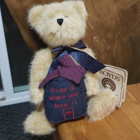 "Boyd's Bears ""Momma Homespun"" 8.5"" New"